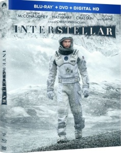 Interstellar Blu-Ray Box Cover Art