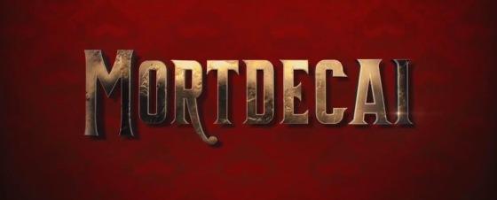 Mortdecai Title Movie Logo