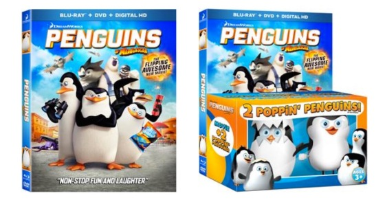 Penguins of Madagascar Blu-ray Box Cover Art