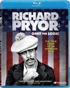 Richard Pryor Omit the Logic Blu-ray Box Cover Art