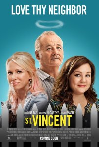 St. Vincent Blu-Ray Box Cover Art