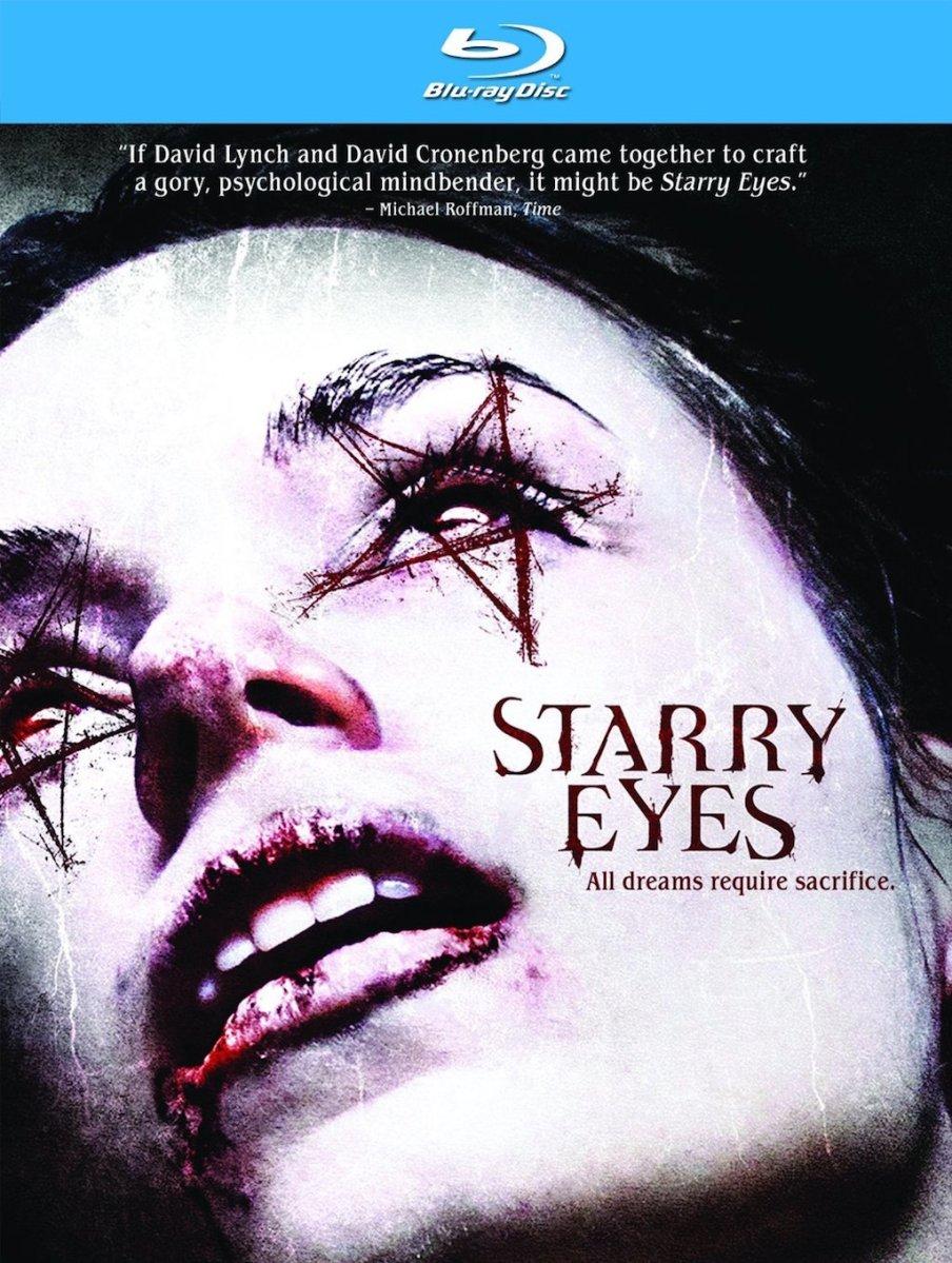 Starry Eyes Blu-Ray Box Cover Art