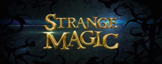 Strange Magic Title Movie Logo