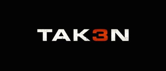 Taken 3 Movie Title Logo