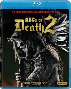 The ABCs of Death Blu-ray Box Cover Art