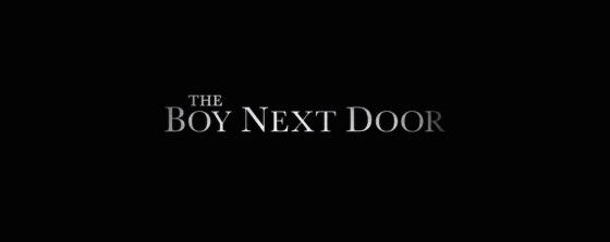 The Boy Next Door Title Movie Logo