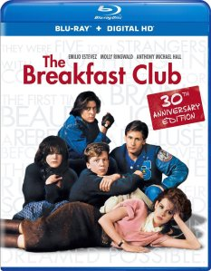The Breakfast Club Blu-Ray Box Cover Art