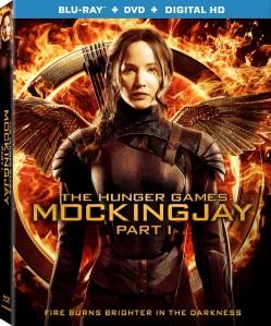 The Hunger Games Mockingjay Part 1 Blu-Ray Box Cover Art