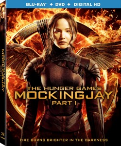 The Hunger Games Mockingjay Part 1 Blu-Ray Box Cover Art