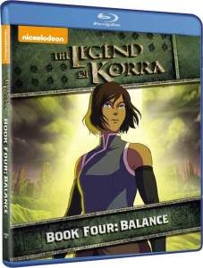 The Legend of Korra Book Four Blu-Ray Cover Art