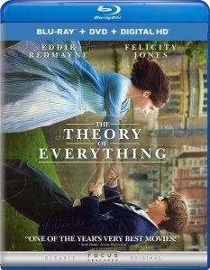 The Theory of Everything Blu-ray Box Cover Art