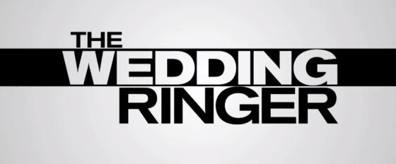 The Wedding Ringer Movie Title Logo