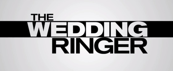 The Wedding Ringer Movie Title Logo