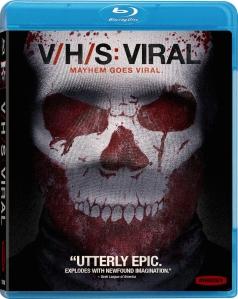 VHS Viral Blu-ray Box Cover Art