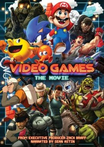 Video Games The Movie DVD Box Cover Art