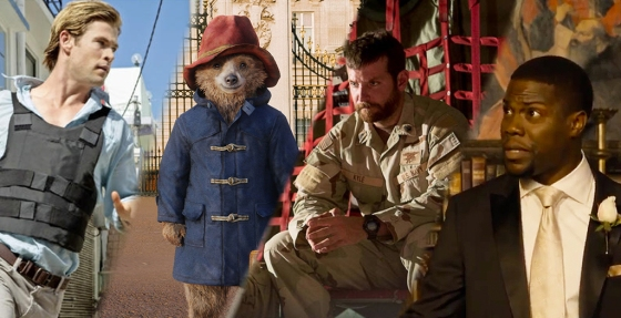 Weekend Movies Paddington Blackhat American Sniper Wedding Ringer