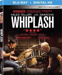 Whiplash 2014 Movie Blu-Ray Box Cover Art