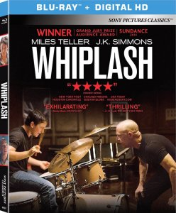 Whiplash 2014 Movie Blu-Ray Box Cover Art