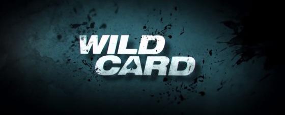 Wild Card Title Movie Logo