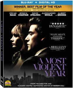 A Most Violent Year Blu-Ray Box Cover Art