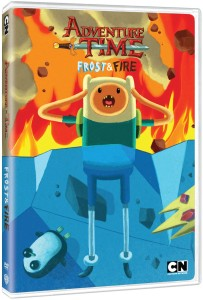 Adventure Time Frost and Fire DVD Cover Art