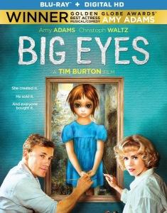 Big Eyes Blu-ray Box Cover Art