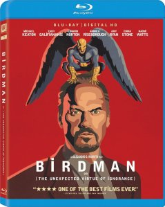 Birdman Blu-Ray Cover Art