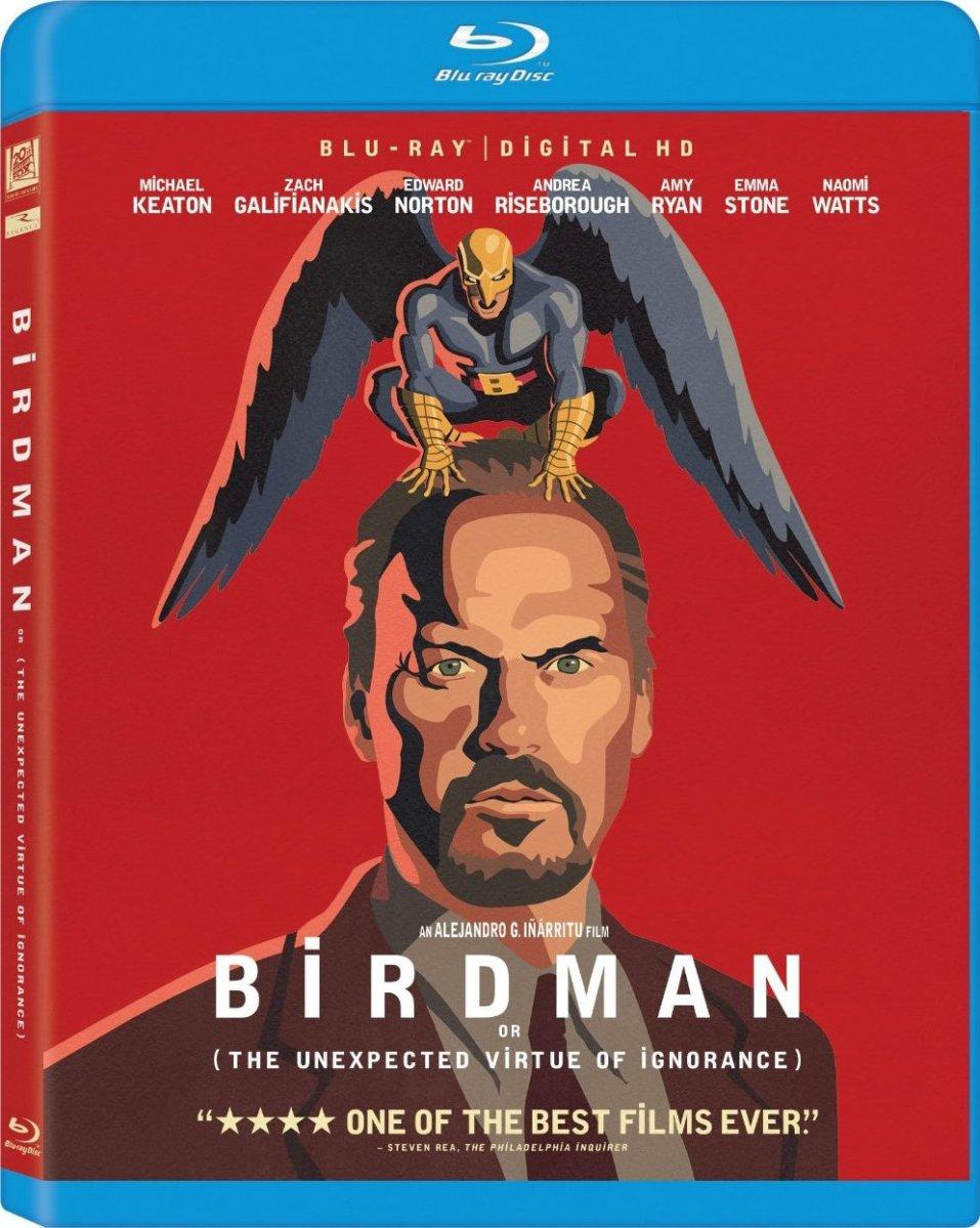 Birdman Blu-Ray Cover Art