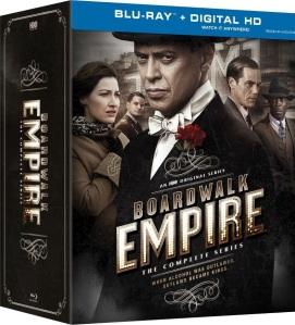 Boardwalk Empire the Complete Series Blu-ray Box Cover Art