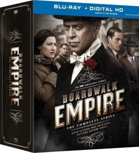 Boardwalk Empire the Complete Series Blu-ray Box Cover Art