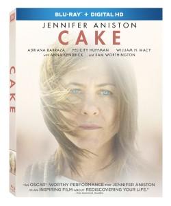 Cake 2014 Movie Blu-ray Box Cover Art