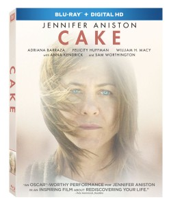 Cake 2014 Movie Blu-ray Box Cover Art