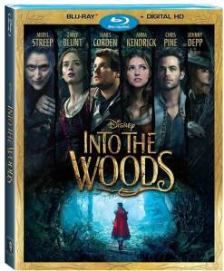 Into the Woods Movie Blu-Ray Box Cover Art