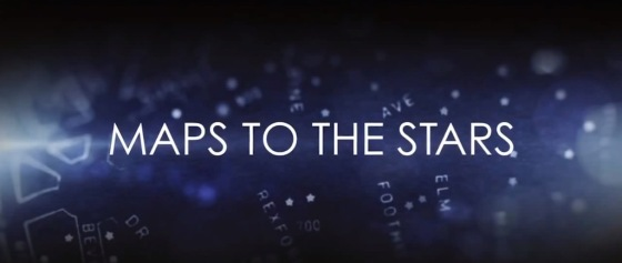 Maps to the Stars Title Movie Logo