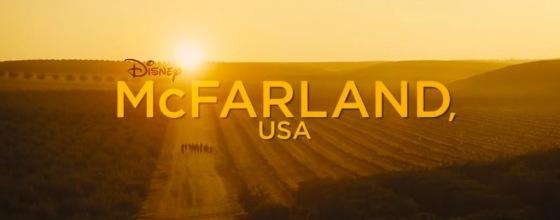 McFarland USA Title Movie Logo