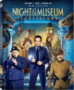 Night at the Museum 3 Blu-Ray Cover Art