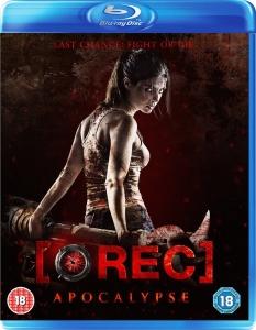 REC 4 Apocalypse Blu-Ray Box Cover Art