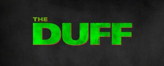 The Duff 2015 Title Movie Logo