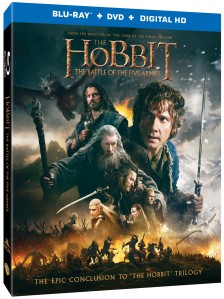 The Hobbit The Battle of the Five Armies Blu-ray Box Cover Art