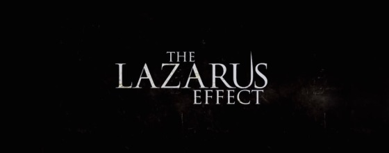 The Lazarus Effect Movie Title Logo