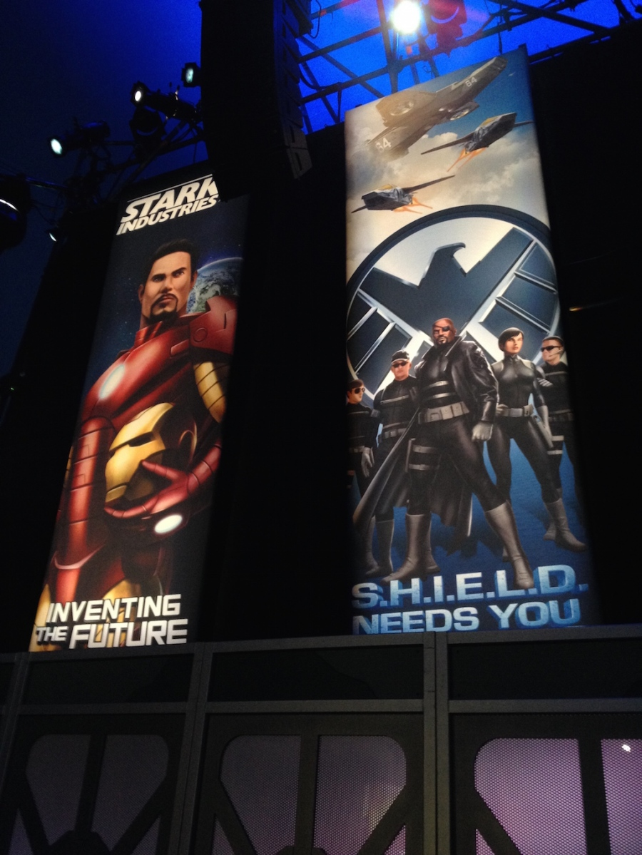The Marvel Experience San Diego Banners