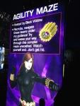 The Marvel Experience San Diego Black Widow Agility Maze