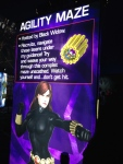 The Marvel Experience San Diego Black Widow Agility Maze