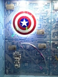 The Marvel Experience San Diego Captain America Shield
