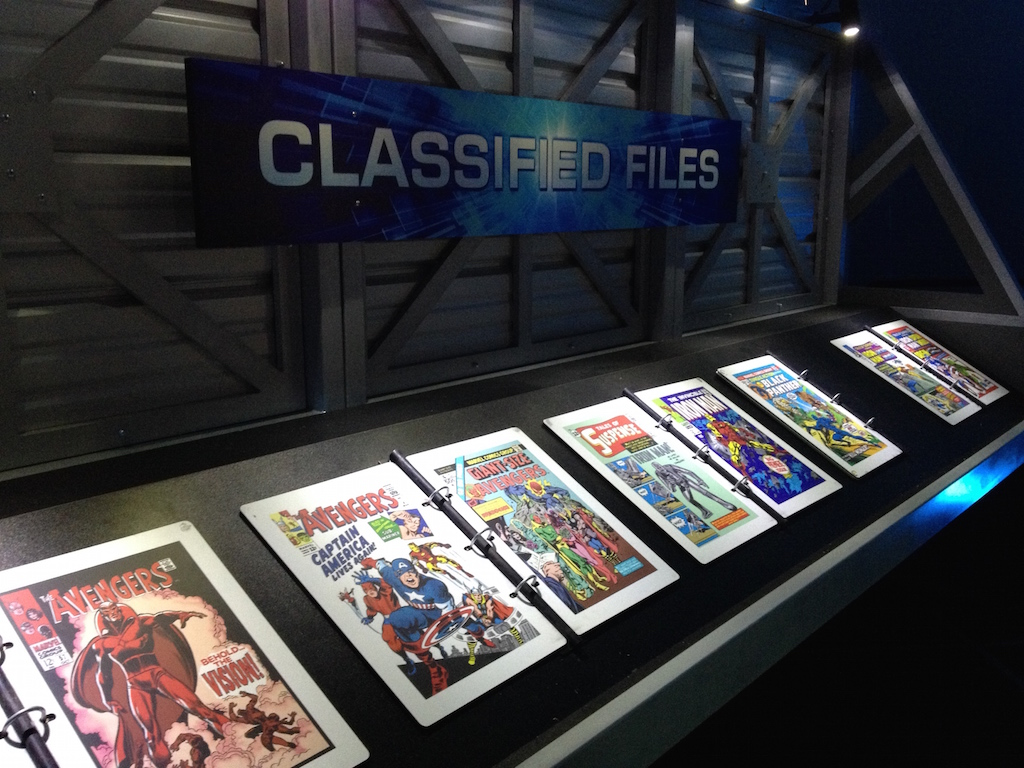 The Marvel Experience San Diego Classified Files
