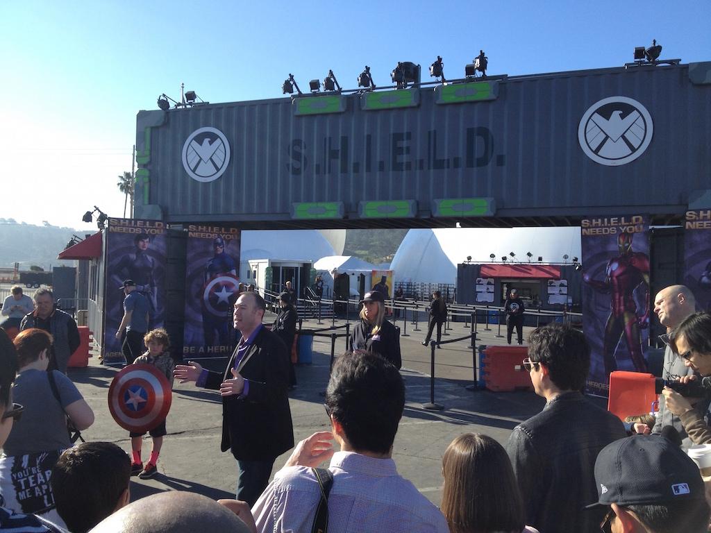 The Marvel Experience San Diego Entrance