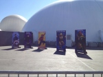 The Marvel Experience San Diego Hero Banners