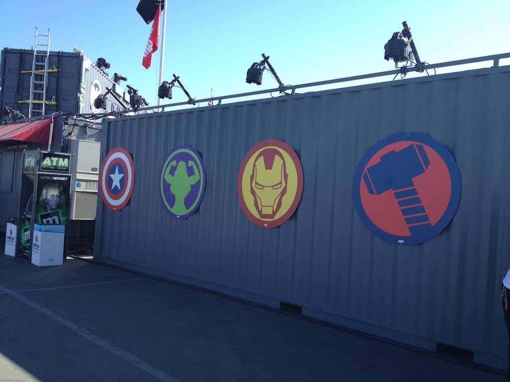 The Marvel Experience San Diego Hero Icons