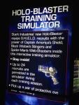 The Marvel Experience San Diego Holoblaster Simulator