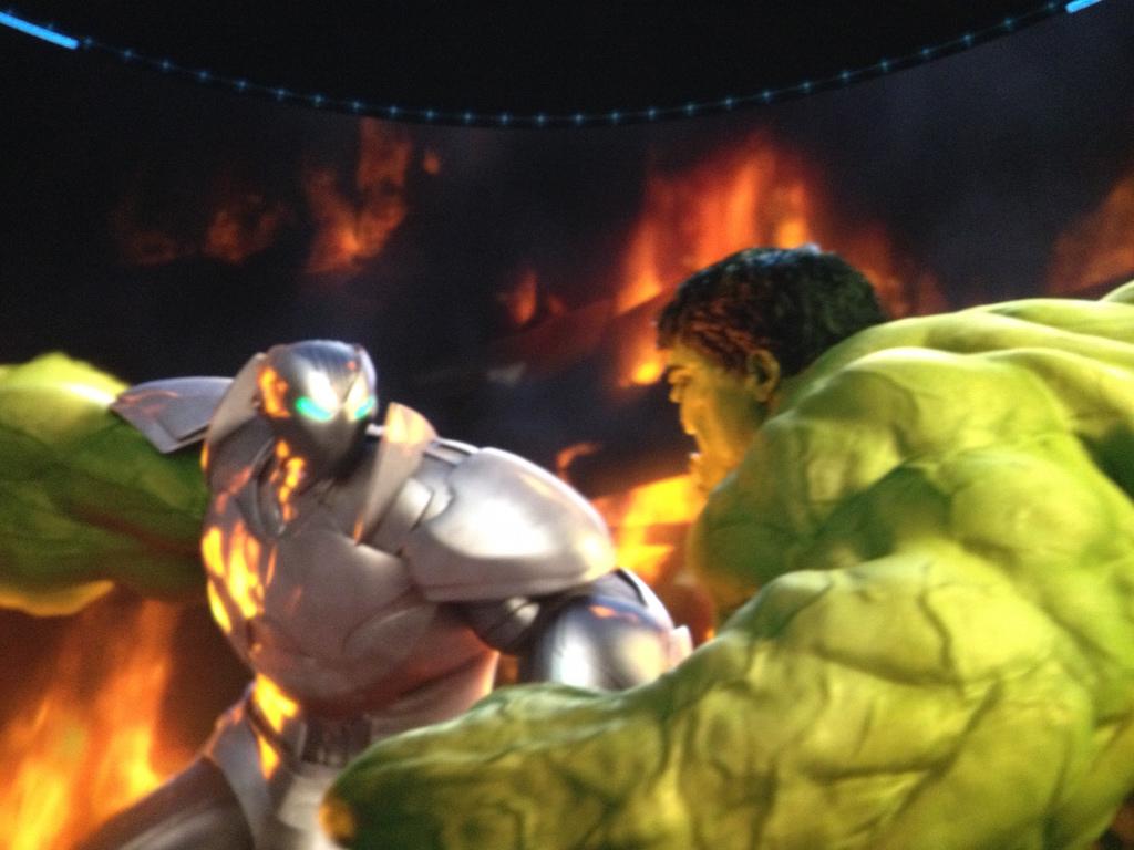 The Marvel Experience San Diego Hulk